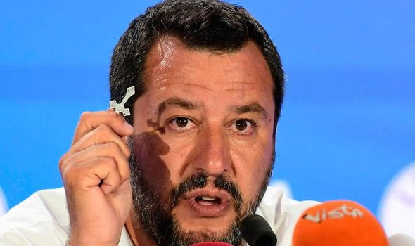 "Matteo Salvini:  ""A new Europe is born""."