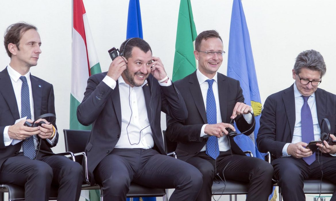 Hungary defends Salvini in Italy.
