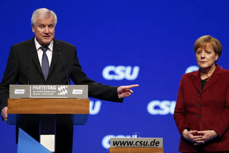 "Useful stooges:  Germany's interior minister, Horst Seehofer (from the ""conservative"" CSU), appeals to Matteo Salvini to open ports to NGO migrant transfer ships."