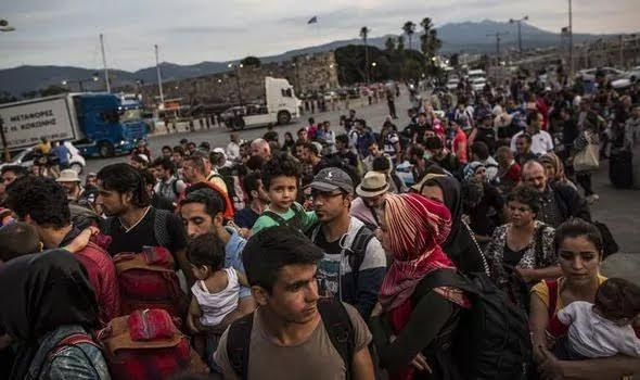 "As migrant arrivals surge in Greece, the government pleads for ""sharing of burden""."