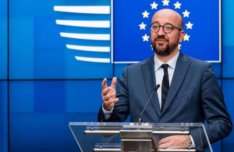 "Meet newly elected (EUCO) Charles Michel, a member of Emmanuel Macron's RenewEurope group, ""hellbent on building an EU empire""."