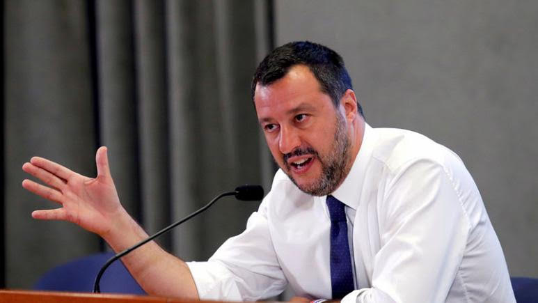 'Game Time':  Italy's Salvini pulls plug on government, calls for elections.
