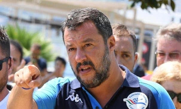 Showdown in Italy…as Team Salvini begins full mobilization.