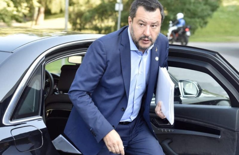 Italy's Matteo Salvini accuses Germany of 'blackmail' over migration, says Berlin sending 'miserable signals.'