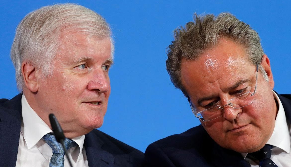 "Who enabled Merkel and the Grand Coalition?  Horst Seehofer and CDU ""sisters"" at CSU, which is a big part of the problem in Germany."