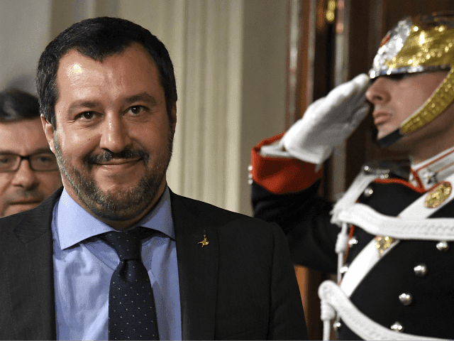 "Salvini wins and he is setting the example while sending the right message…but the German-based NGO Sea-Eye will instead head for Malta to ""drop off migrants""."