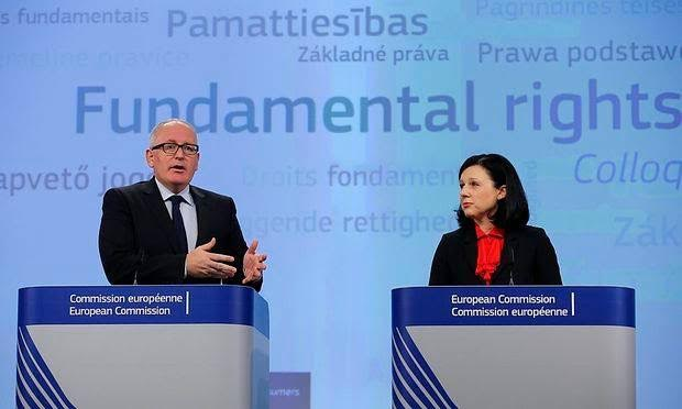 "Timmermans has ""lost it"", he is unfit to serve in EU Commission."