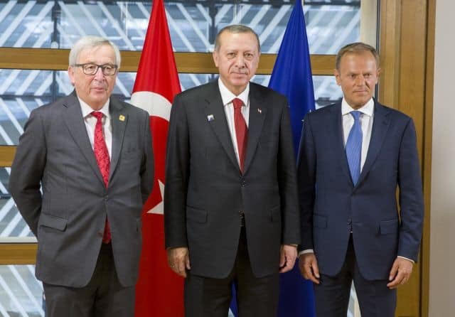 The EU media has conveniently forgotten about the details of the EU-Turkey deal regarding deportations…and so has Brussels.