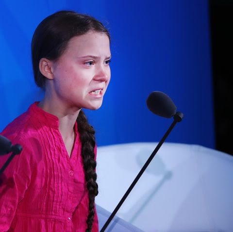 "It's just plain madness to listen to a naive teenager from Sweden who has been clearly indoctrinated by the so-called ""adults"" in her life.  But she is the ""poster child"" for Brussels."
