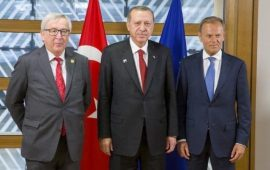 Erdogan plays with a feeble and weak EU…just like a cat tortures a mouse.