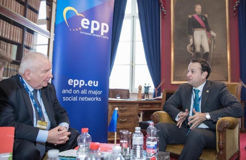 "Ireland ""all-in"" with migrants and NGOs.  PM Leo Varadkar (EPP Party) is greatly admired in Brussels for his obedience.  He is certified ""EU-compliant"" 🕺🇪🇺"