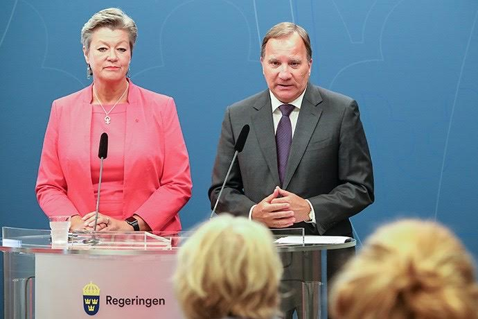 Ylva Johansson is from Sweden…and von der Leyen awarded her with the portfolio for migration and security. 😒