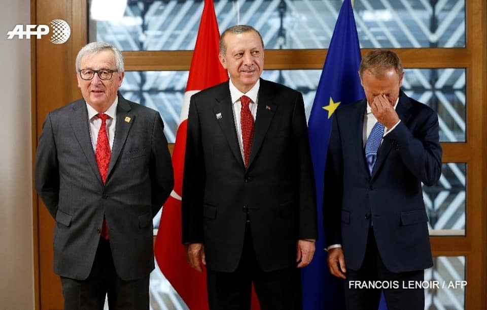 Erdogan does not ask Macron for permission to deport to France.  He does not respect West EU feminists.