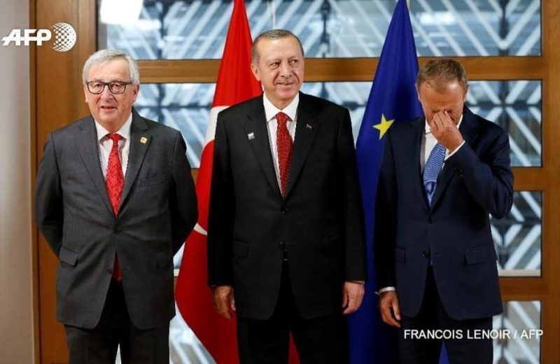 Hard facts…but Erdogan thanks the EU for the euros.