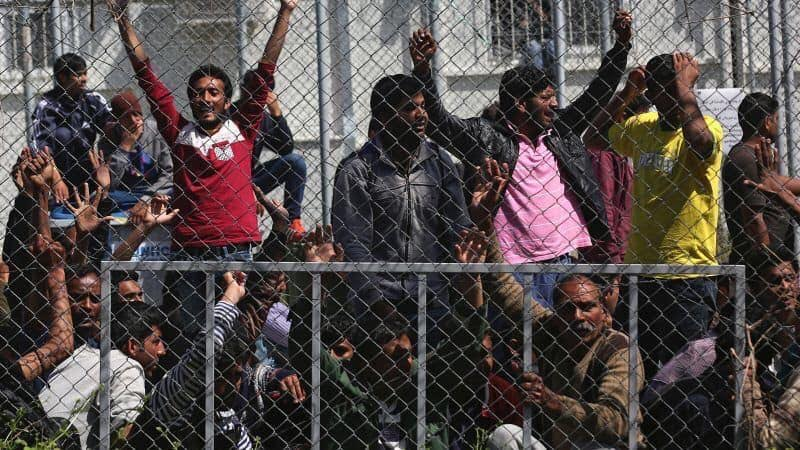 70 unaccompanied migrant minors (majority are aggressive males or adults lying about age from violent and alien cultures) to fly from Lesbos to Berlin.