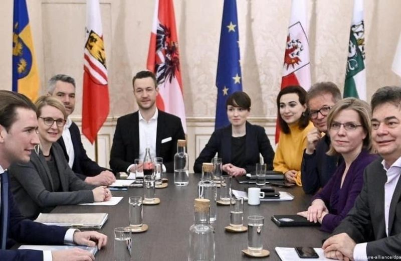 """Austria: Far-left Greens to form government with Kurz's so-called """"conservatives""""."""
