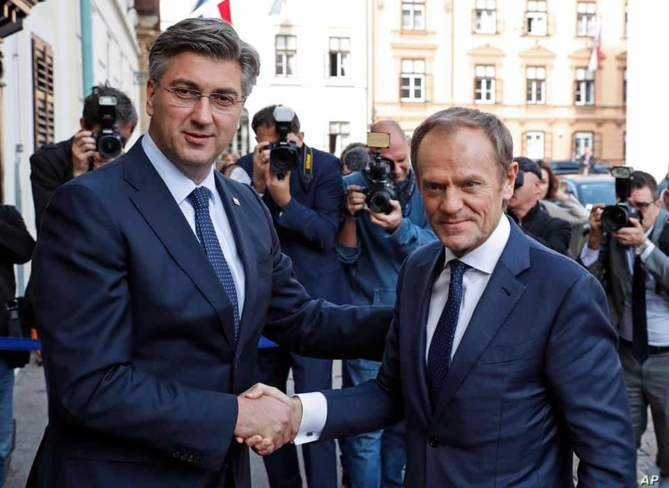 Croatia's PM Andrej Plenkovic (EPP) is no Viktor Orban, which is probably why he is considered a star in the EPP.