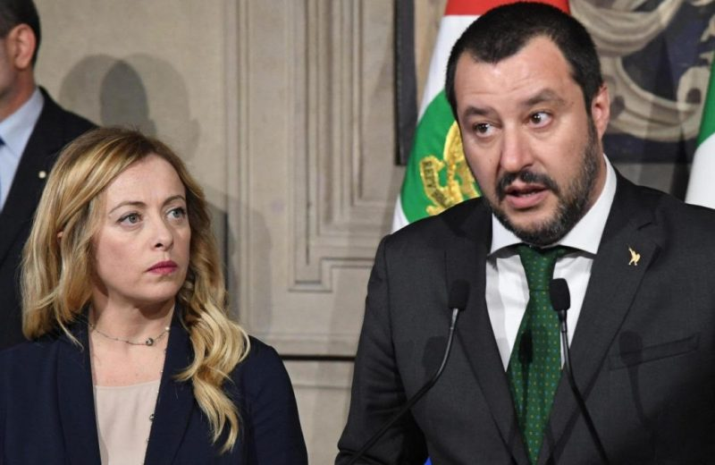 Salvini was a threat to the EU establishment and it's allies promoting mass migration.