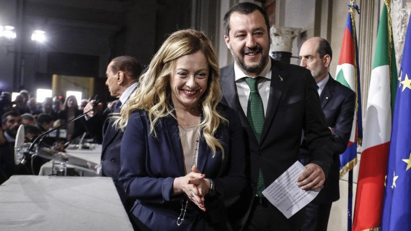 Italy regional elections:  Split decision but Salvini/Meloni have the momentum while 5Star has self-destructed.