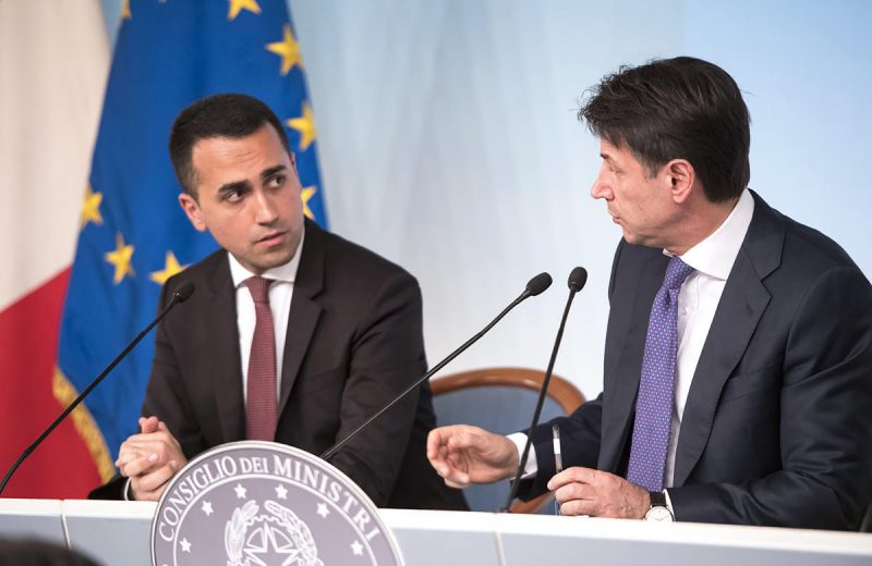 The EU-approved Conte regime in Italy is out of control but influence of Brussels has been poison for Europe.