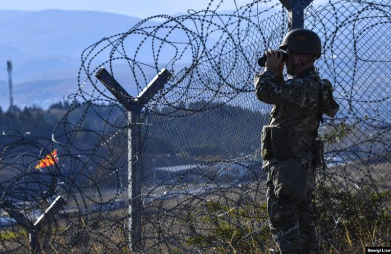 Pressure continues to mount from Greece as police detain 53 illegals in North Macedonia.