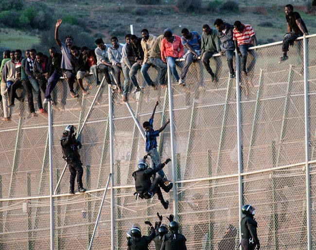 """Spain: European Court Approves Summary Deportations of Illegal Migrants.  Time to """"push-back""""."""