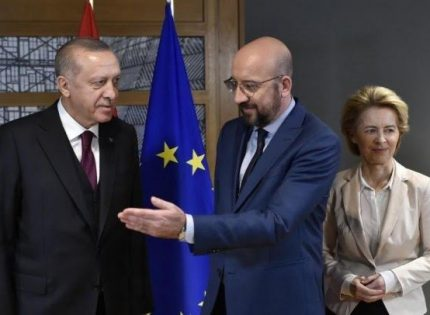Assessment of migrant deal with Turkey continues, EU says.   Does one get the impression that the EU Commission lacks the courage to deal with Erdogan?