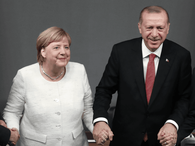 After the 'summit' with Erdogan, a shrinking Merkel says, EU-Turkey migrant deal still intact.   Whatever Angela?