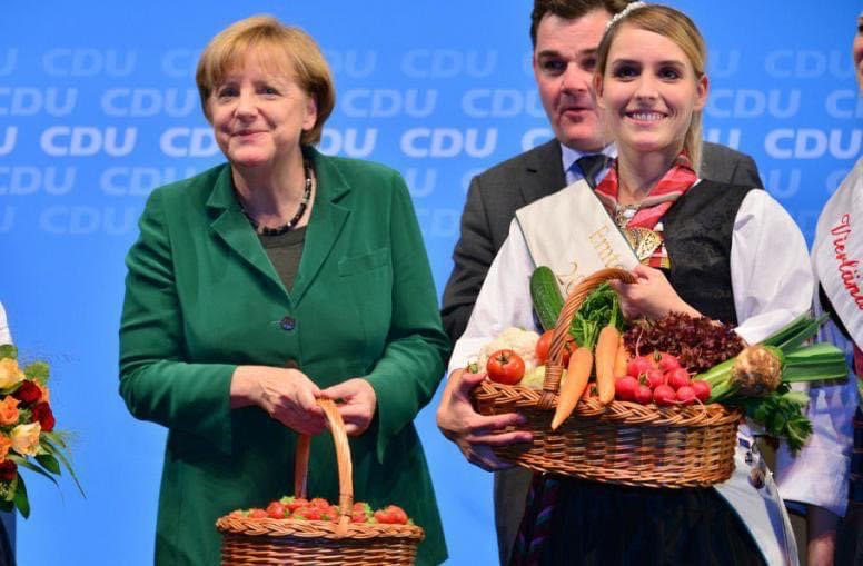 Is Angela Merkel having another welcoming reception?   Afghans found hidden in watermelons.