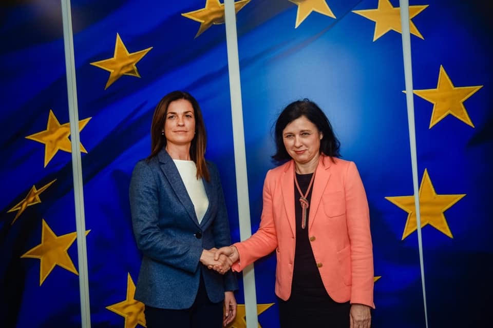 Hungarian Justice Minister Varga to EC Vice President Jourova's Criticism: 'The cat is out of the bag again'.  Hungary and Poland can never trust Jourova…period!