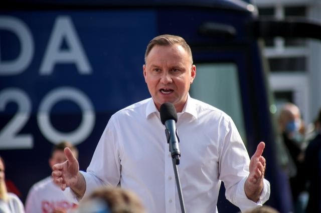 Poland elections: President Duda says he would ban LGBT teaching in the schools.