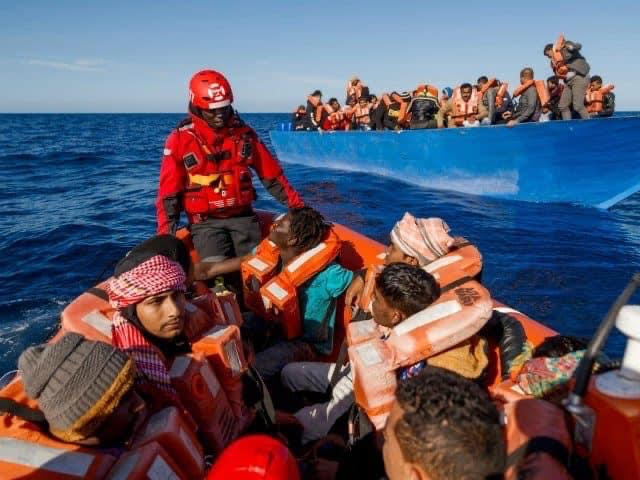 Human Smugglers tracking NGOs and sending them illegal migrants.