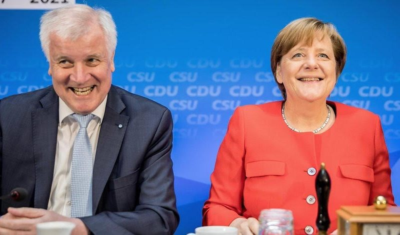 Germany and the EU plebe states:  Seehofer is a lifeguard too?  🏊‍♂️ 🚁