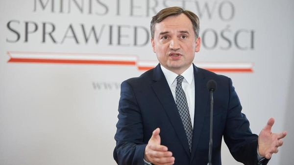Poland and Hungary veto massive EU budget over rule of law chains.