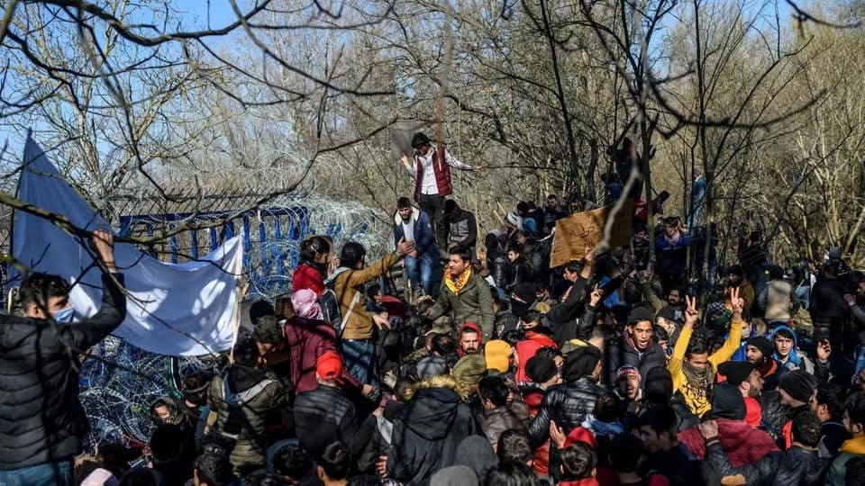 Greek police arrest Islamic State suspect after migrant camp brawl.