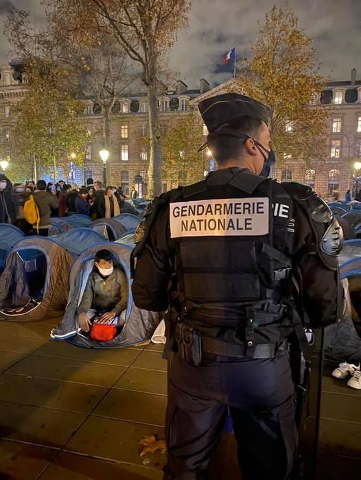 France: It's about time. Aggressive male illegals from Afghanistan cannot be allowed to continue to control the situation.