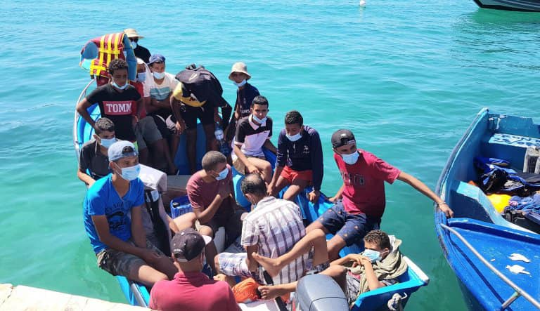 Party on with the EU regime in Italy:  Number of Tunisian illegals landing rose fivefold in 2020.