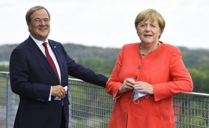 Victory for Germany's 'mini-Merkel' and EU federalists will push more countries to quit EU, warns ex-MEP.