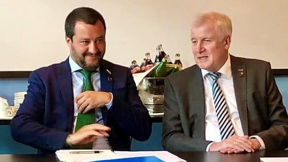 Salvini who?  Italy's version of Horst Seehofer!