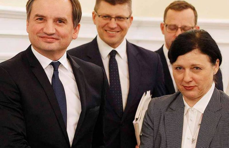 EU Commission attacks Poland again, gives Poland a month to respond to justice system fears.
