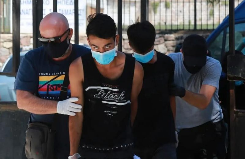 Afghan 'youths' jailed for five years over Greek migrant campfire