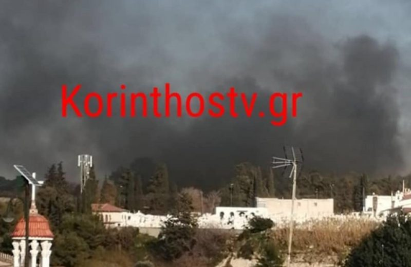 Greece: Uprising of illegals with fires and stones
