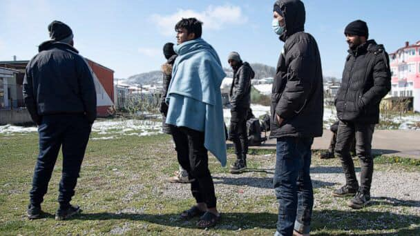 Bosnia sees Covid-19 infection surge in migrants, refugees