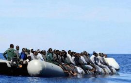 A newborn amongst 80 migrants on a boat in Maltese SAR Zone