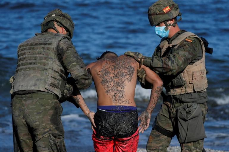 Spain, Croatia, Greece:  It's ok to pushback the illegal migrants.