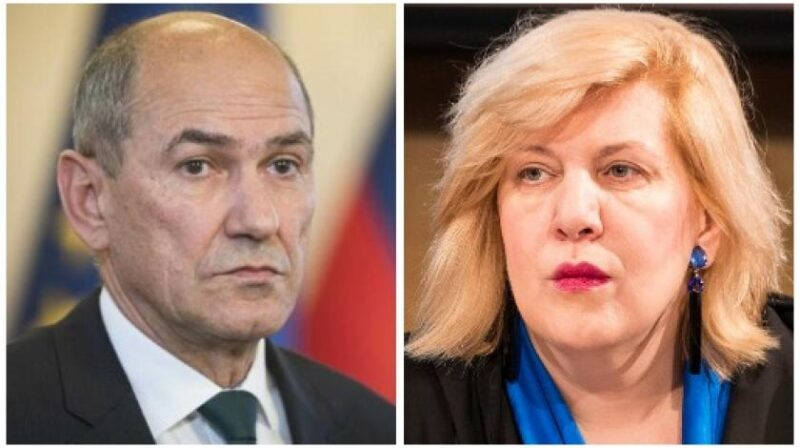 Prime minister Janez Janša accuses Dunja Mijatović, EU elected Commissioner for Human Rights for being a part of fake news network