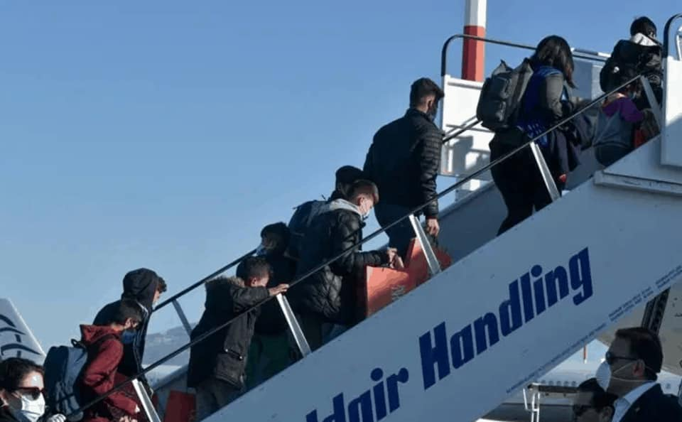 Greece:  4,000 illegals have been transferred to other EU countries