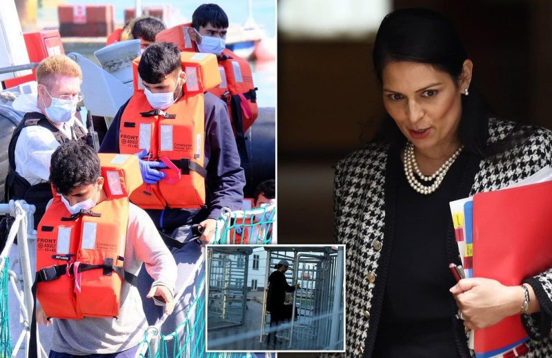 UK:  Priti Patel opens talks with Denmark to open and share new centre in AFRICA to process asylum seekers.