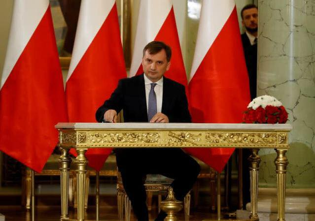 No Way: Polish justice minister says Warsaw cannot comply with EU's court ruling.